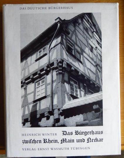 Das Bürgerhaus zwischen Rhein, Main und Neckar.