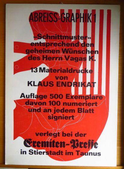 Endrikat, Klaus: Abreiss-Graphik 1.