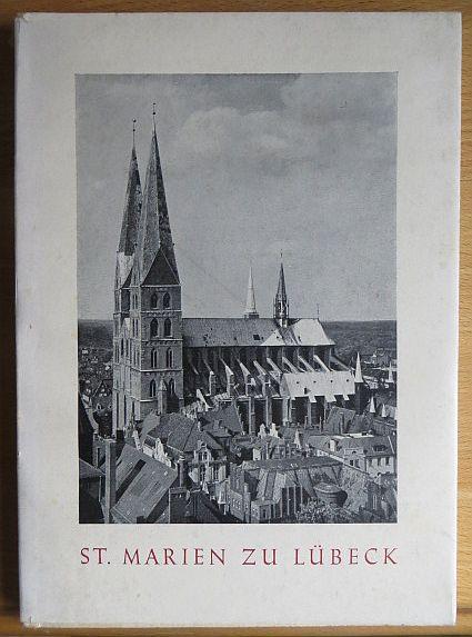 Ellger, Dietrich und Johanna Kolbe: St. Marien zu Lübeck und seine Wandmalereien. ; Johanna Kolbe