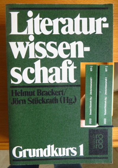Literaturwissenschaft. Teil: Grundkurs 1; Teil: Grundkurs 2; (3499162776)