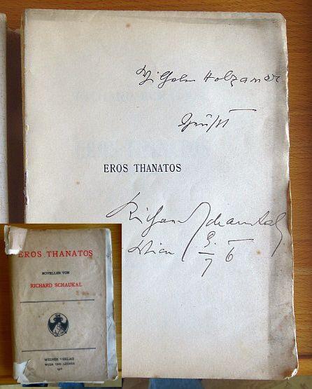 Eros Thanatos Novellen von... Nr.283 von 800 Expl.