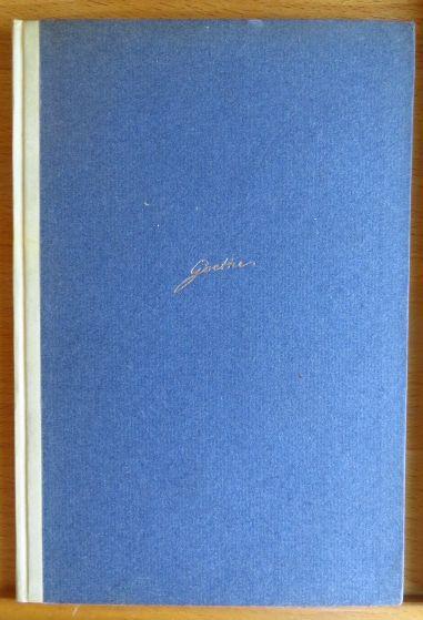 Grenzen der Menschheit : sieben Gedichte. von Johann Wolfgang Goethe ein numeriertes von 300 Ex.