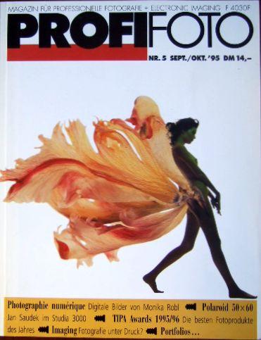 Profi Foto, Nr. 5, Sept./Okt. ´95. Magazin für Professionelle Fotografie + Electronic Imaging.