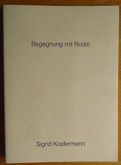 Begegnung mit Rodin