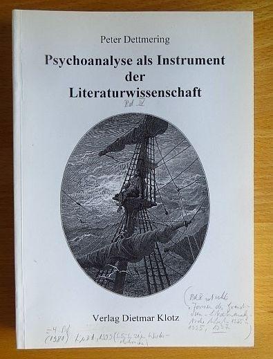 Psychoanalyse als Instrument der Literaturwissenschaft. 3.  Aufl.