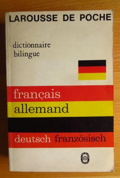 Larousse de poche français-allemand. par; Daniel Rocher Ed. entièrement nouv.