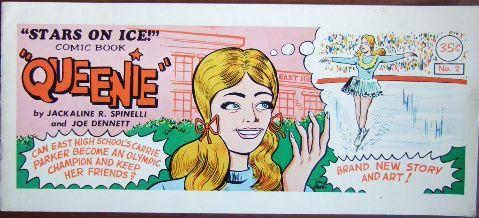 Queenie - Stars on Ice Comic Book, No. 2.