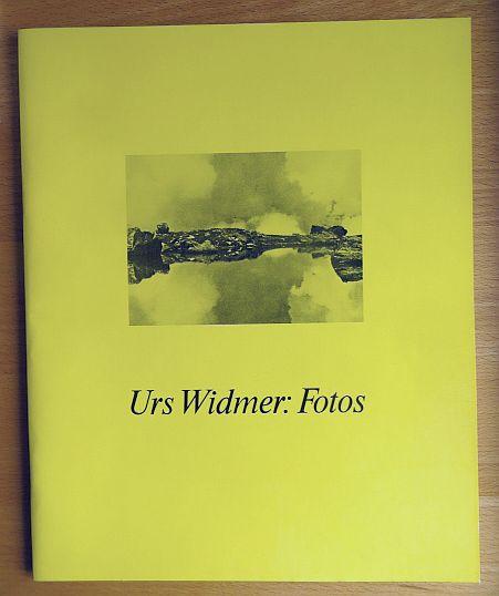 Urs Widmer: Fotos