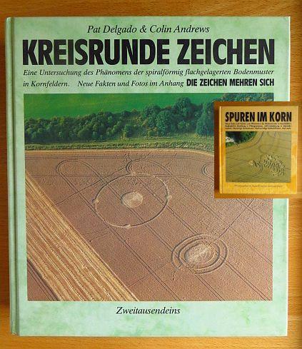 Krönig, Jürgen: Kreisrunde Zeichen / Spuren im Korn 2 Bände 10. Aufl. / 1. Aufl.