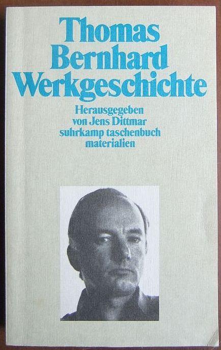 Werkgeschichte. : Hrsg. v. Jens Dittmar. (st ; 2002) 1. Aufl.