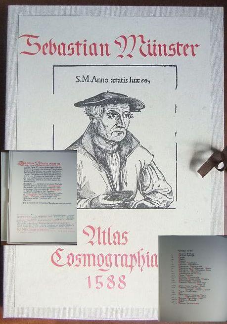Atlas Cosmographia 1588. Faksimile, der deutschen Ausgabe von 1588 entnommen ; Nr 326 von 500 Expl.