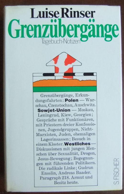 Grenzübergänge : Tagebuch-Notizen.