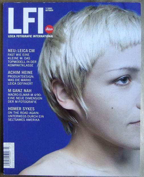 LFI Leica Fotografie International 55. Jg., Heft 7 Oktober 2003.