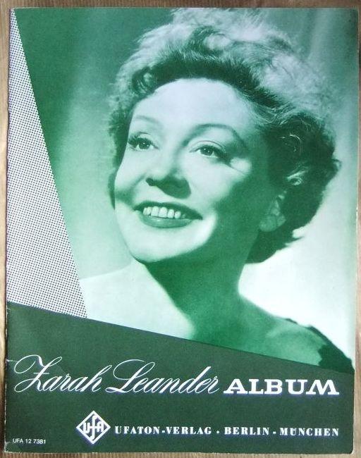 Zarah-Leander-Album. UFA 12 7381.