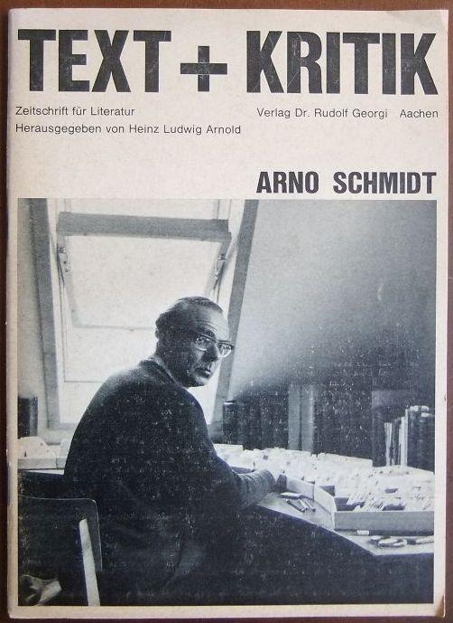 Arno Schmidt. Text + Kritik:  Zeitschrift für Literatur ; 20, Mai 1968.