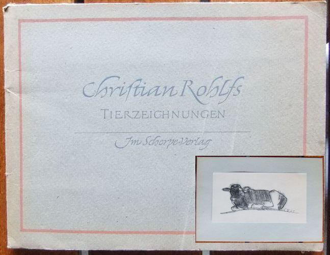 Tierzeichnungen. Geleitwort von August Hoff.