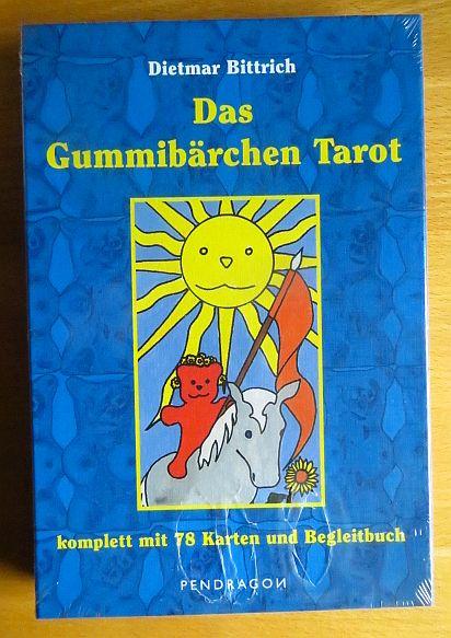 Das Gummibärchen-Tarot : komplett mit 78 Karten und Begleitbuch. Dietmar Bittrich. [Ill. von Anneke Larsmeyer und Sascha Teßmann]