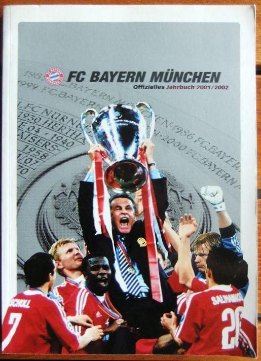 FC Bayern München: Offizielles Jahrbuch 2001/2002