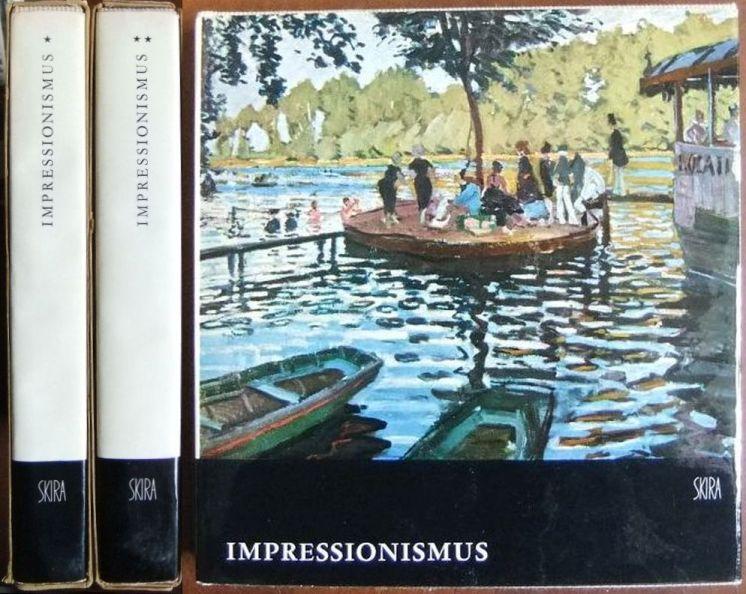 Impressionismus; 2 Bde. Biographisch-kritische Studie. (Die neue Sammlung Skira: Der Geschmack unserer Zeit; 11 u. 12.)