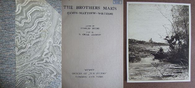 The Brothers Maris (James-Matthew-William). Text by Croal Thomson (in engl. Sprache).