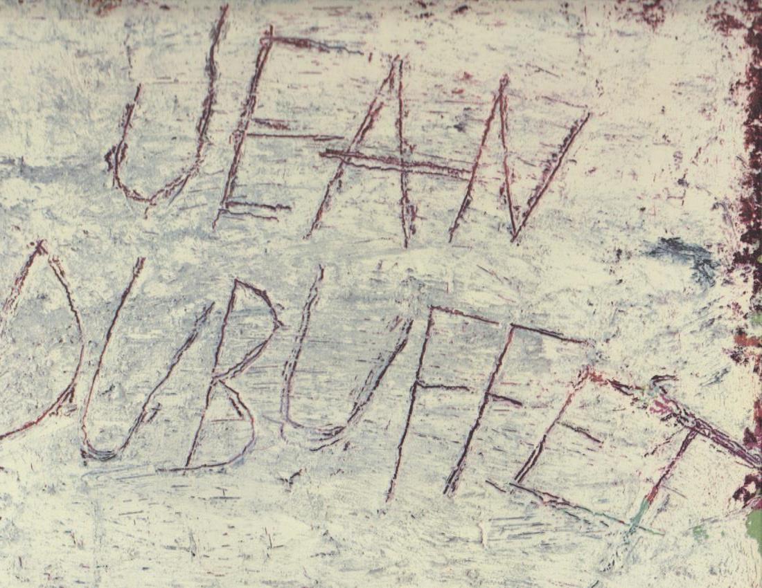 Les dessins de Jean Dubuffet.