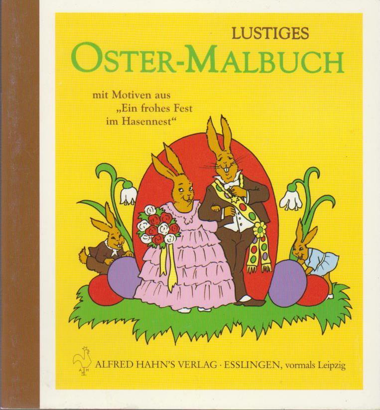 Lustiges Ostermalbuch 3. Aufl.