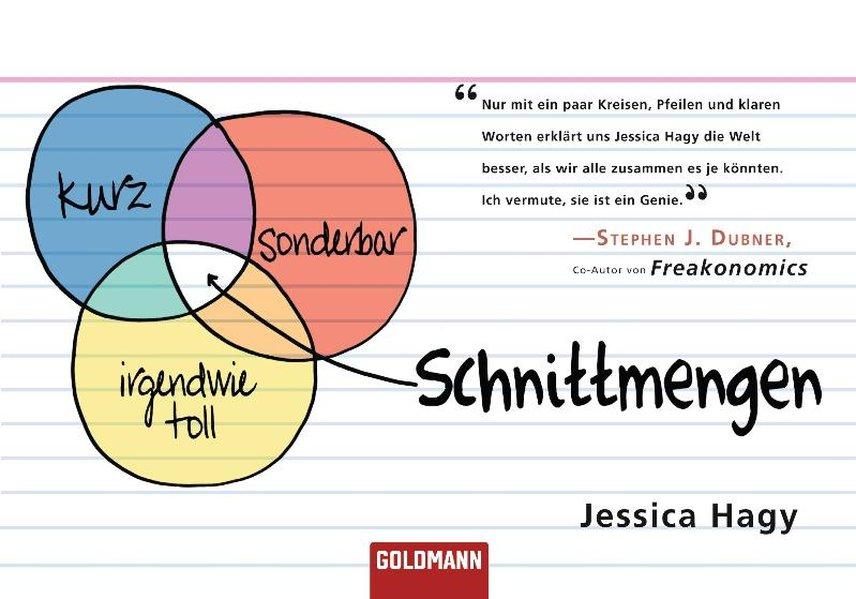 Schnittmengen / Jessica Hagy. Aus dem Amerikan. von Vivian Cullis / Goldmann ; 47284 Dt. Erstveröff., 1. Aufl.