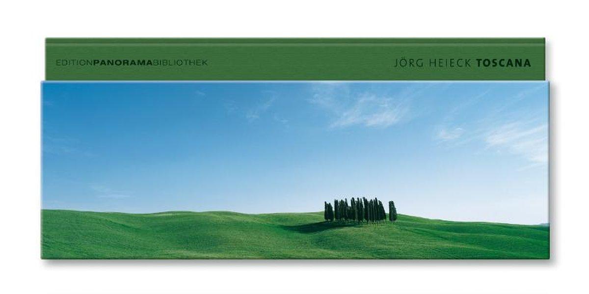Heieck, Jörg und Mario Luzi: Toscana / Jörg Heieck. [Ed. dep.: Thomas Kraft. Italian transl. (except M. Luzi): DLÜV. English transl.: Susi Mayr] / Edition-Panorama-Bibliothek 1., Aufl.