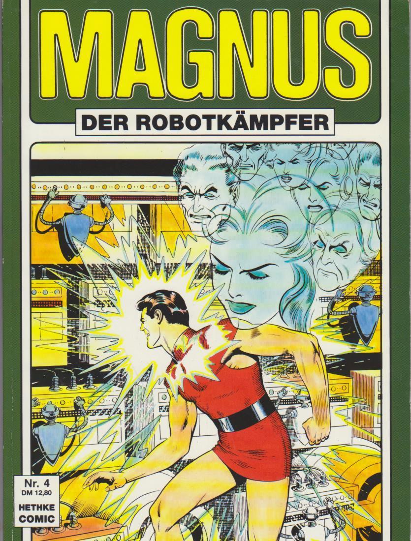 Magnus Nr. 4 : Der Robotkämpfer Sammlerausgabe