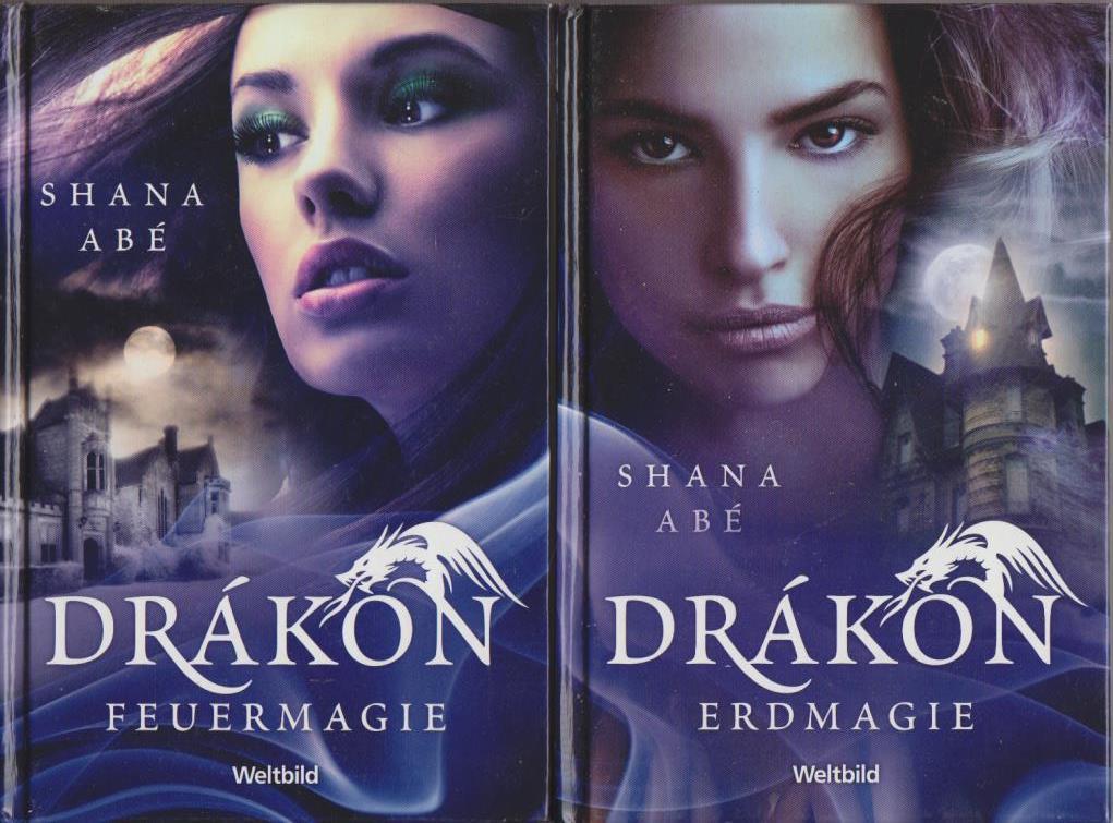 DRÁKON (3 Bände) : Drachenmagie - Feuermagie - Erdmagie