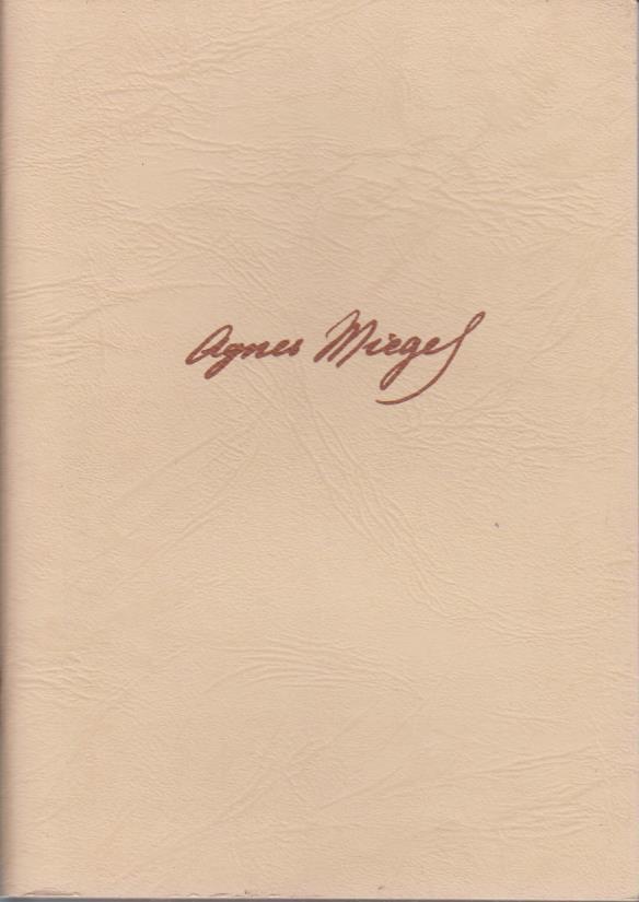 """Agnes Miegel in der """"kleinen Heimat ihres Herzens"""" / Agnes-Miegel-Gesellschaft / Agnes-Miegel-Gesellschaft: Jahresgabe ; 1987"""