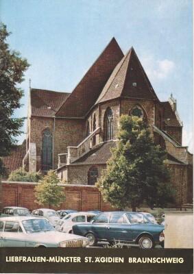 Liebfrauen-Münster St. Ägidien Braunschweig. Kunstführer Nr. 900. [1. - 10. Tsd.]