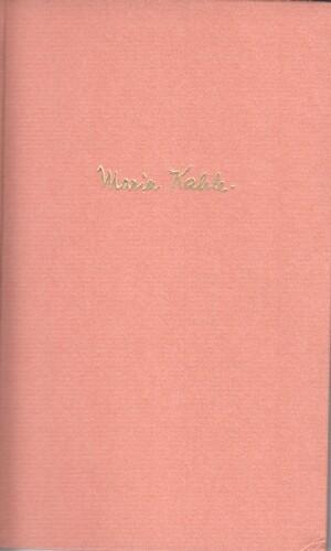 Kahle, Maria: Herz der Frau : Gedichte.