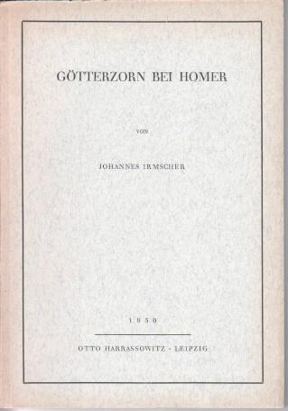Götterzorn bei Homer.