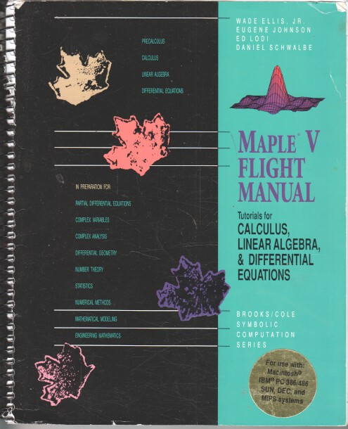 Maple V Flight Manual.