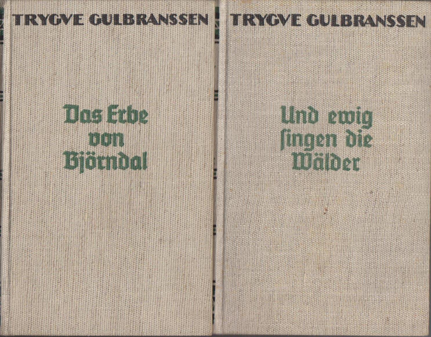 Und ewig singen die Wälder. Das Erbe von Björndal. (2 Bände) [Berecht. Übers. von Ellen de Boor] 201.-210. Tsd., 91.-100. Tsd.