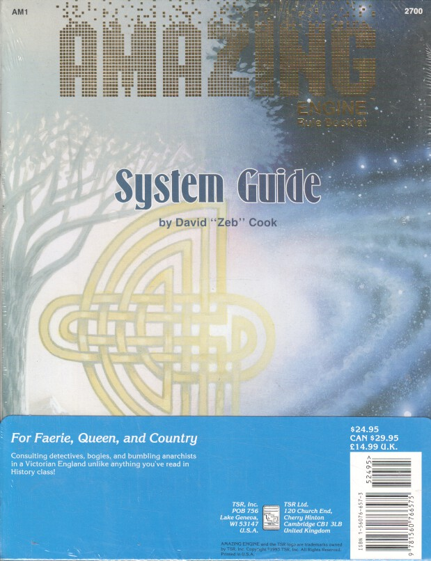 For Faerie, Queen, and Country (Amazing Engine Universe Book and System Guide)