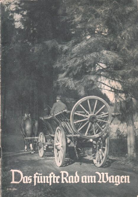 Frommel, Emil: Das fünfte Rad am Wagen. Nr. 1841