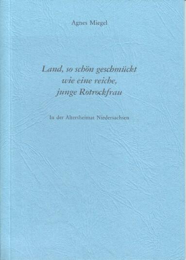 Dreißig Jahre Agnes-Miegel-Gesellschaft : 1969 - 1999. von, Agnes-Miegel-Gesellschaft: Jahresgabe ; 1999