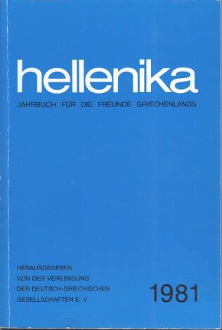 Hellenika 1981 : Jahrbuch für die Freunde Griechenlands.