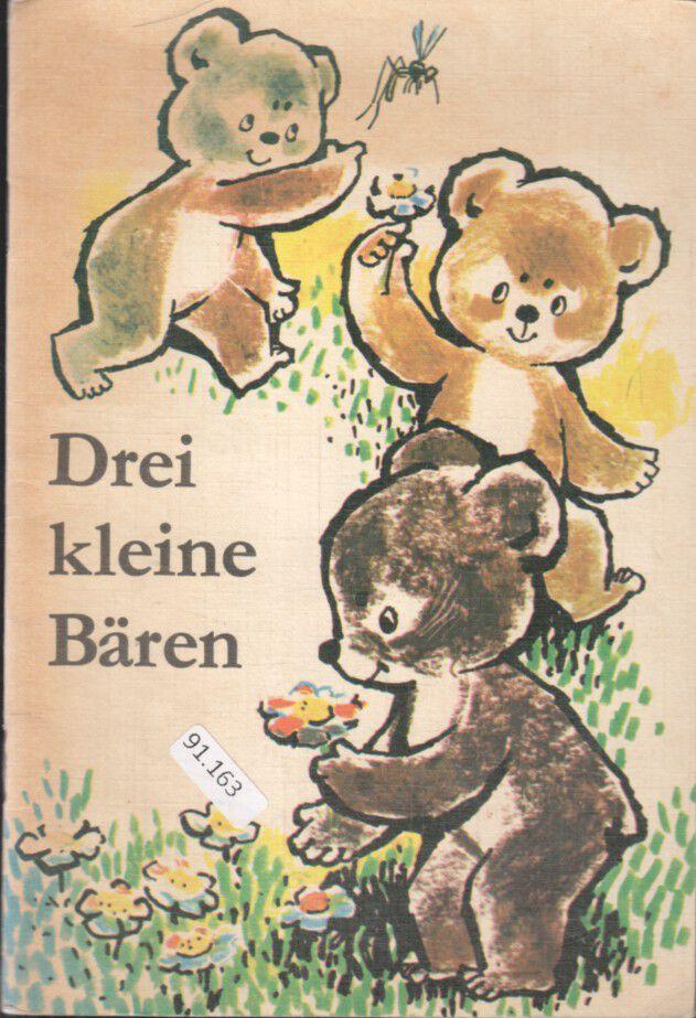 Drei kleine Bären. Alfred Könner. Ill. von Ingeborg Meyer-Rey 2. Aufl.