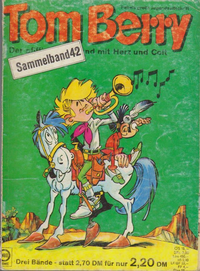 Tom Berry. Sammelband 42. Nr. 174, 175, 178