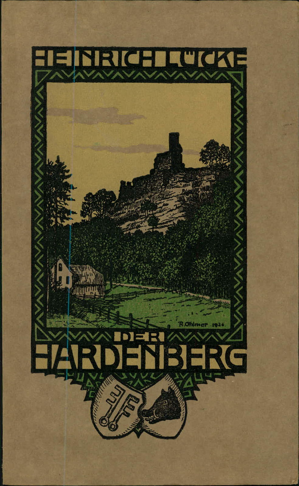 KD1142 - Druck - 1926 - Hardenberg - Der Hardenberg - Ohlmer -