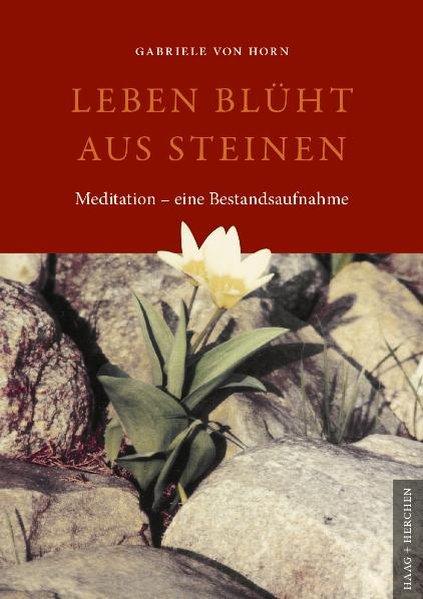 Leben blüht aus Steinen : Meditation - eine Bestandsaufnahme / Gabriele von Horn 1