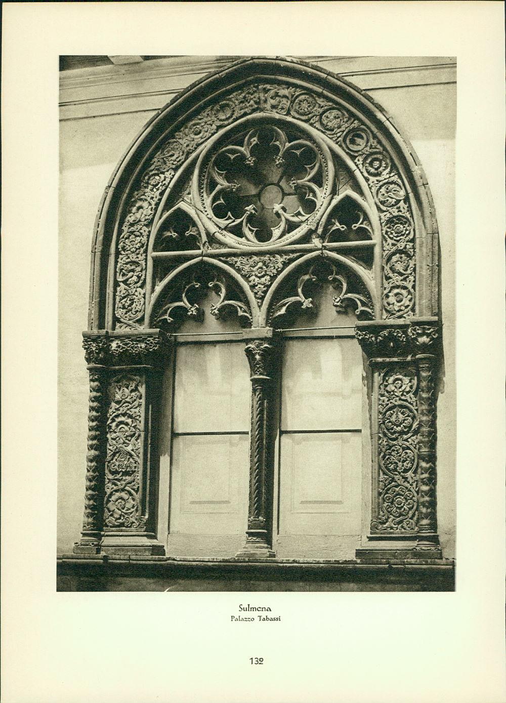 Hielscher, Kurt: Kupfertiefdruck : Sulmona - Palazzo Tabassi - S. Maria Annunziata (Abruzzen) Stadtansichten.