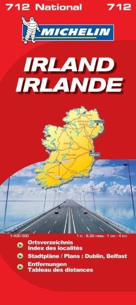 Irland : 1:3450000 / Michelin Nationalkarte