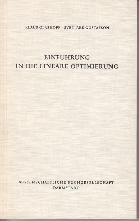 Einführung in die lineare Optimierung