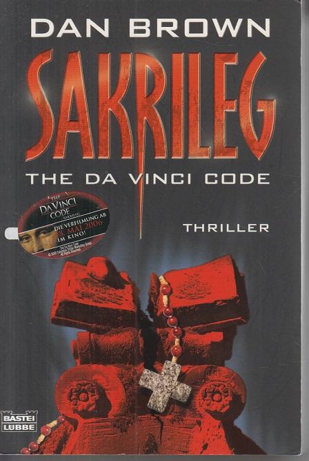 Sakrileg. The Da Vinci code.