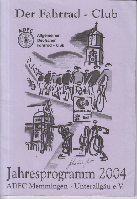 Der Fahrrad-Club. Jahresprogramm 2004.