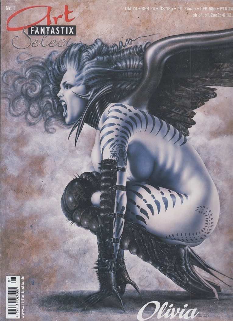 The Art of Olivia II, Art Fantastix Select